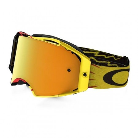 OAKLEY BRILLE AIRBRAKE MX HIGH VOLTAGE