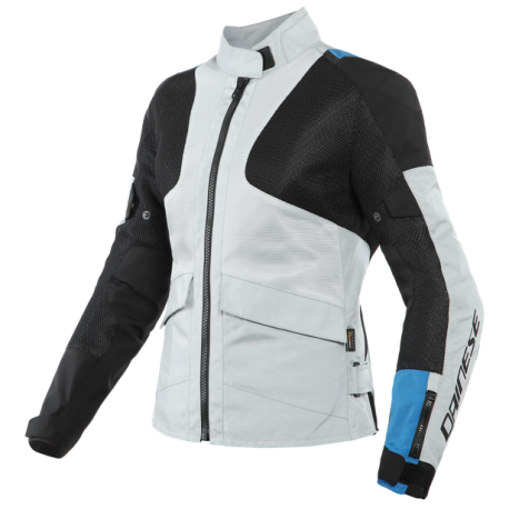 DAINESE AIR-TOURER LADY TEX GRAY BLUE BLACK