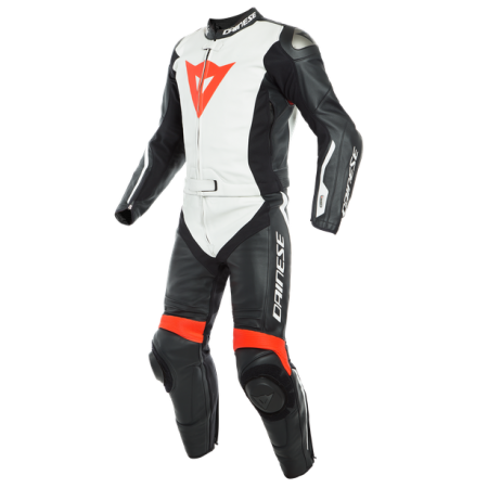 DAINESE Leather suit AVRO D-AIR 2PSC