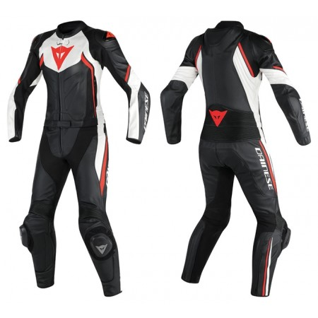 DAINESE AVRO D2 LADY BLACK WHITE RED 2018