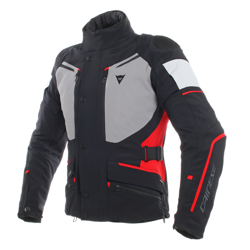 DAINSE CARVE MASTER 2 GORE-TEX BLACK FROST GREY RED