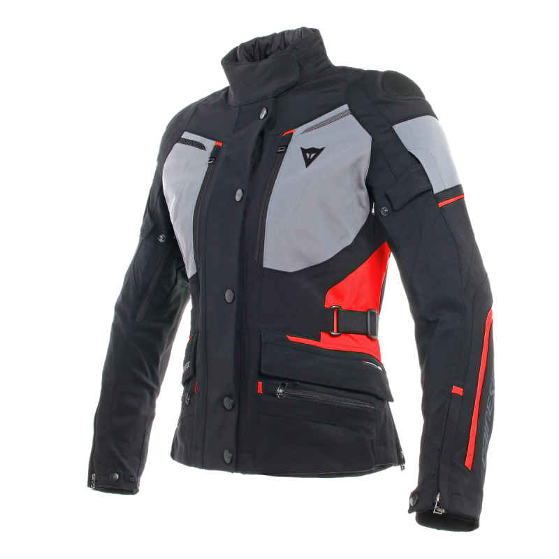 DAINSE CARVE MASTER 2 GORE-TEX LADY BLACK FROST GRAY RED