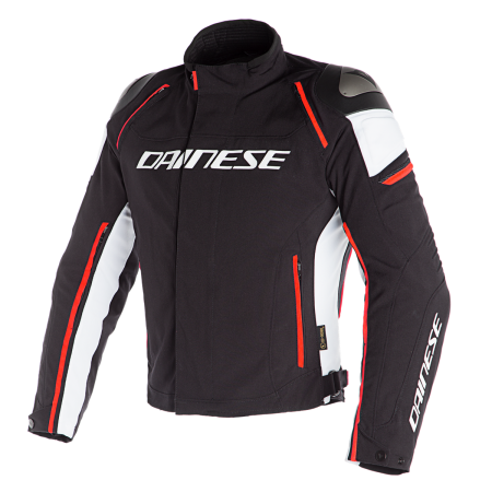 DAINESE RACING 3 D-DRY BLACK BLACK WHITE