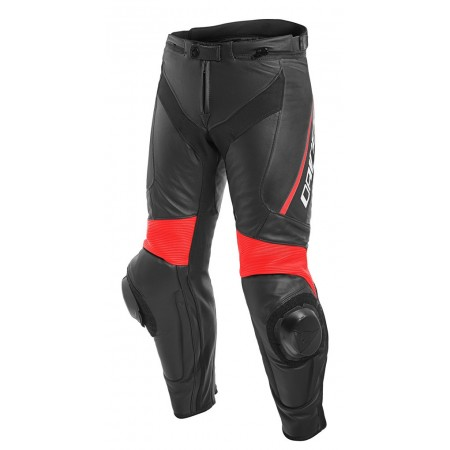 DAINESE DELTA 3 BLACK FLUO RED