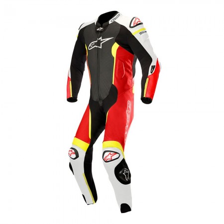 ALPINESTARS MISSILE TECH-AIR BLACK WHITE RED FLUO YELLOW FLUO