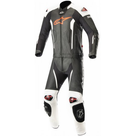 ALPINESTARS MISSILE 2PC TECH AIR BLACK WHITE