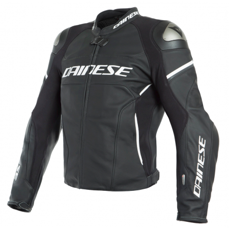 DAINESE RACING 3 D-AIR BLACK WHITE