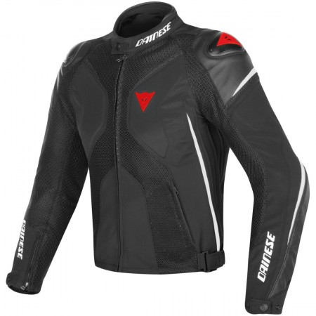 DAINESE SUPER RIDER D-DRY BLACK WHITE RED