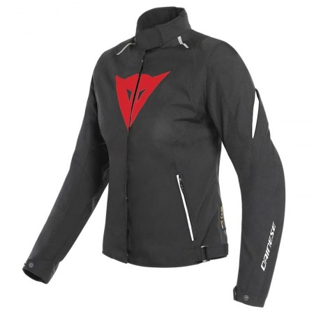 DAINESE LAGUNA SECA 3 LADY D-DRY BLACK LAVA RED WHITE