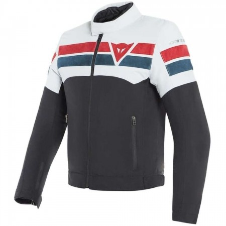 DAINESE 8 TRACK TEX NERO BLACK/ ICE/ RED