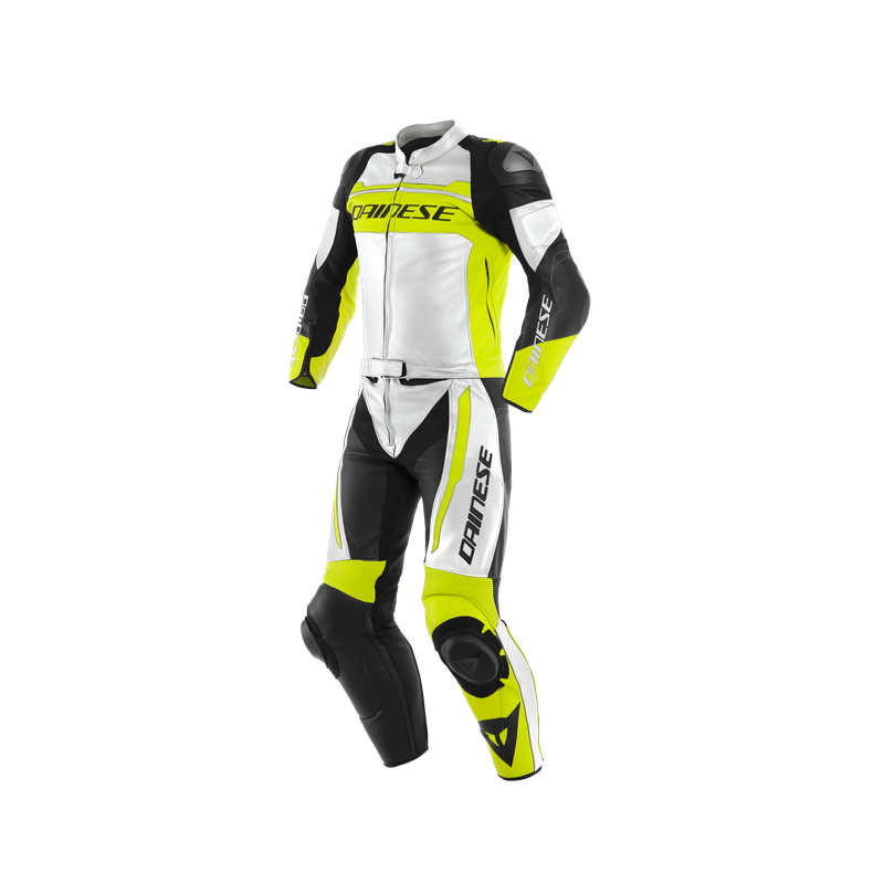 DAINESE MISTEL WHITE FLUO YELLOW BLACK